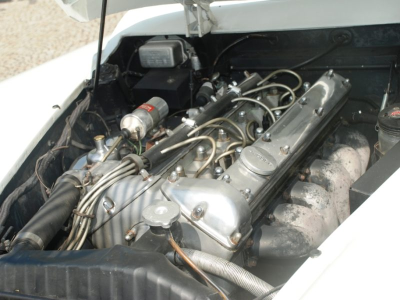 Jaguar XK150 DHC Detalhe Motor