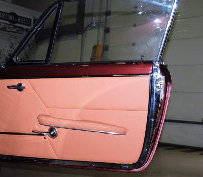 Maserati Sebring Serie II 1966 Bordeaux Porta