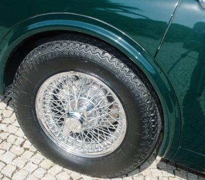 Jaguar MKII 3.8 1960 Detalhe Jante