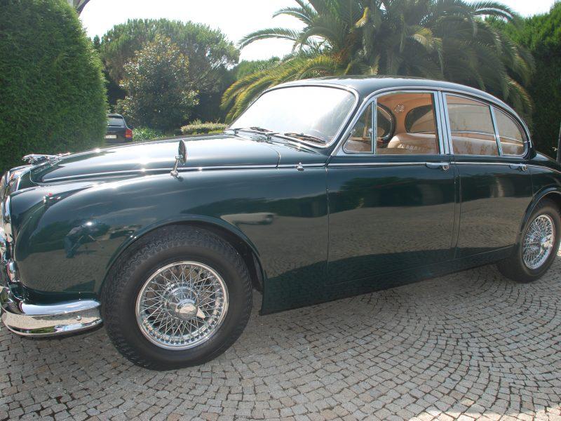 Jaguar MKII 3.8 1960 Lateral