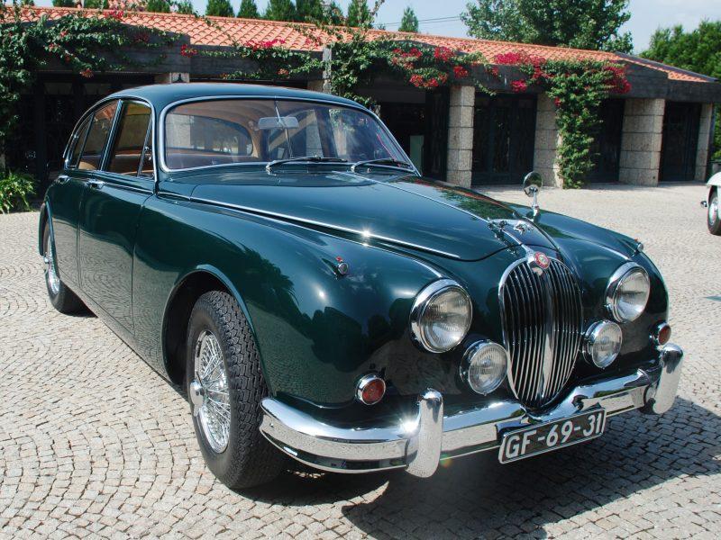 Jaguar MKII 3.8 1960 Frente