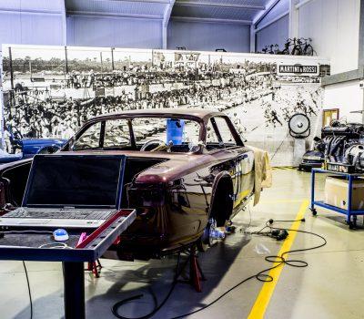 Maserati Sebring Serie II 1966 Bordeaux Tratamento