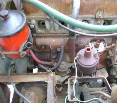 Fiat 1200 TV Spider Motor