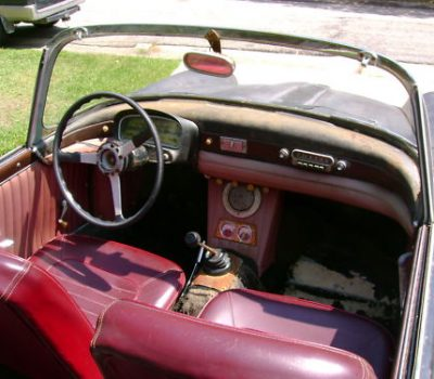 Fiat 1200 TV Spider Interior