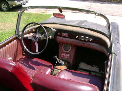 Fiat 1200 TV Spider Interior