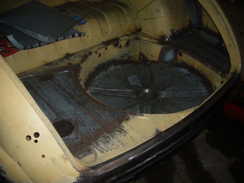 Jaguar MKI 1956 Pearl Grey Restoration