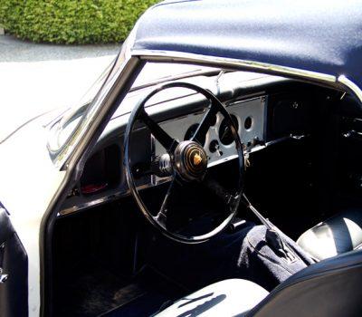 Jaguar XK150 DHC Detalhe Interior