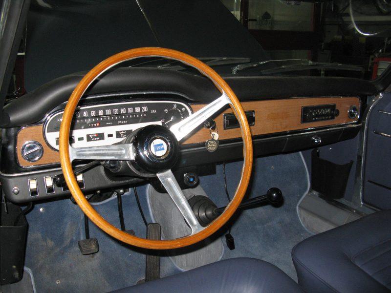 Lancia Flavia Vignale 1963 Silver Grey Interior