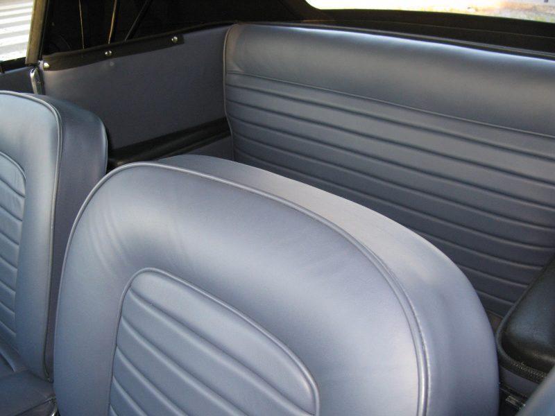 Lancia Flavia Vignale 1963 Silver Grey Seats