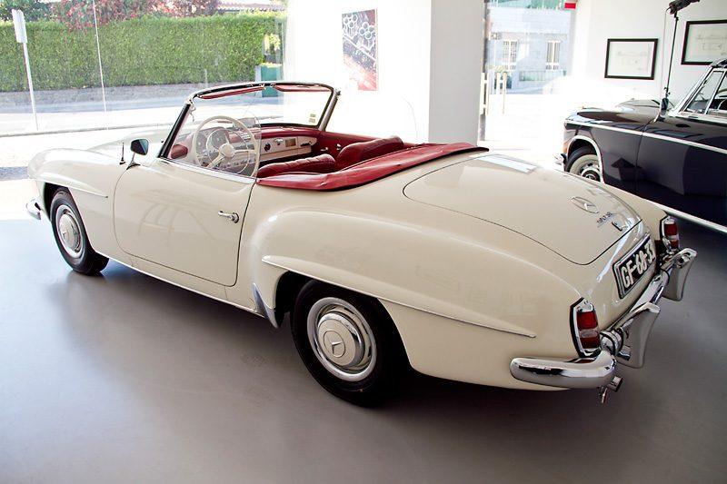 Mercedes 190SL 1960 Exterior