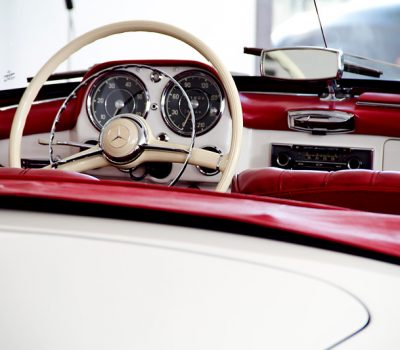 Mercedes 190SL 1960 Interior