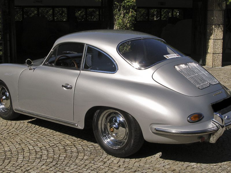 Porsche 356B 1963 Left Side Back