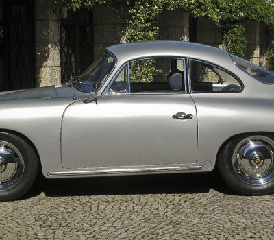 Porsche 356B 1963 Left Side Wheels