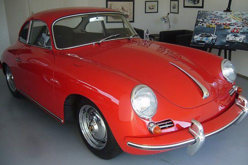 Porsche 356B T6 1962 After Restoration