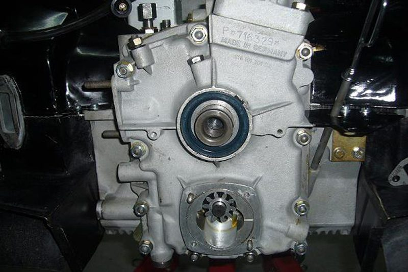 Porsche 356B T6 1962 Engine Repair