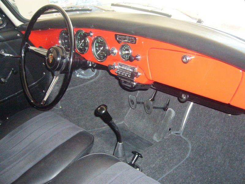 Porsche 356B T6 1962 Interior
