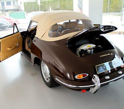 Porsche 356C 1964 Cabrio Back