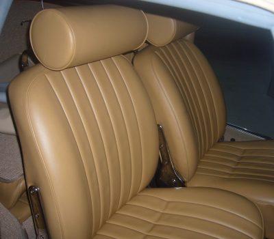 Porsche 356C 1964 Cabrio Front Seats