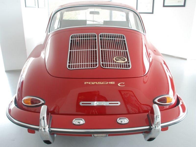 Porsche 356C 1964 Signal Red Back