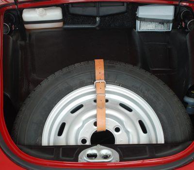 Porsche 356C 1964 Signal Red Bagage