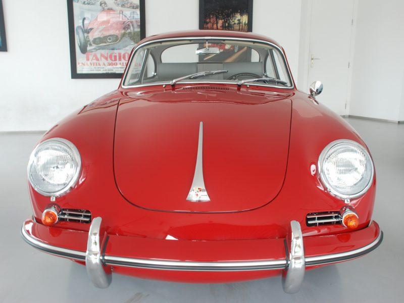 Porsche 356C 1964 Signal Red Front
