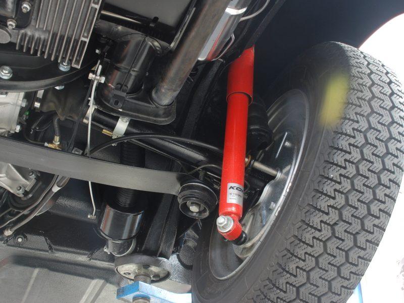 Porsche 356C 1964 Signal Red Mechanic Wheels