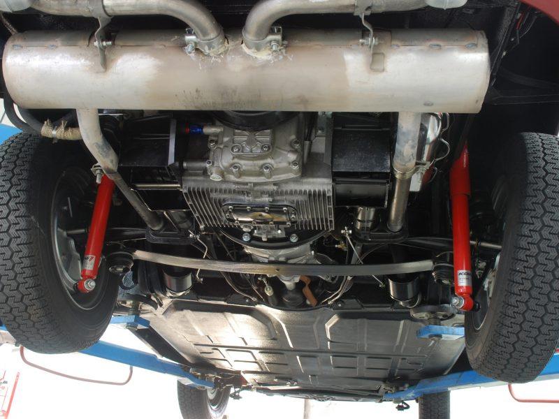 Porsche 356C 1964 Signal Red Mechanics