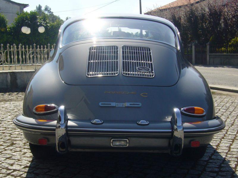 Porsche 356C 1964 Sunroof Back