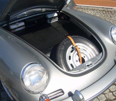 Porsche 356C 1964 Sunroof Bagage