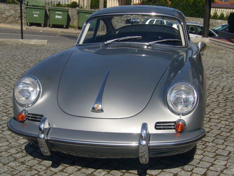 Porsche 356C 1964 Sunroof Front