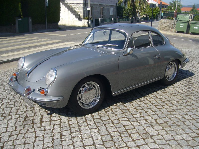 Porsche 356C 1964 Sunroof Left Side