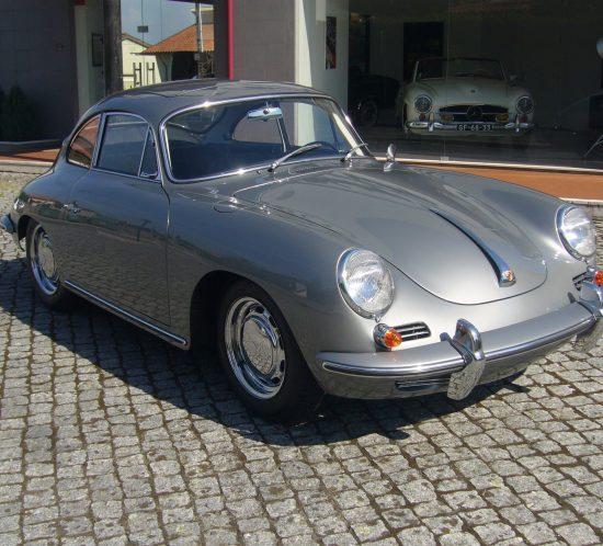Porsche 356C 1964 Sunroof Right Side