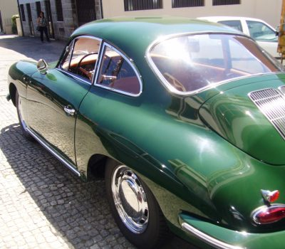 Porsche 356SC 1963 Iris Green Left Side