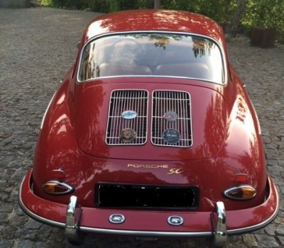 Porsche 356SC 1964 Ruby Red Back