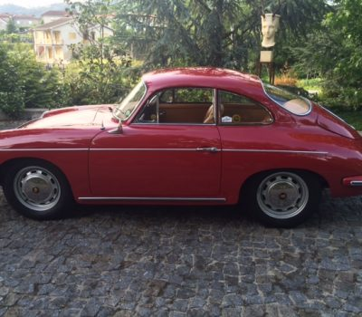 Porsche 356SC 1964 Ruby Red Left Side