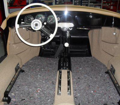 Porsche 365A T2 1958 Interior
