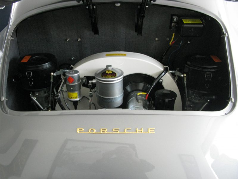 Porsche 365A T2 1959 Interior Engine