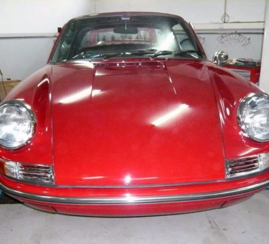 Porsche 911 Targa Soft Window 1968 Red Front