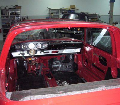 Porsche 911 Targa Soft Window 1968 Red Interior