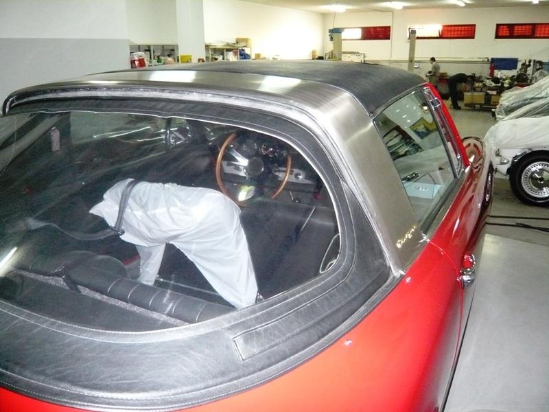 Porsche 911 Targa Soft Window 1968 Red Soft Window