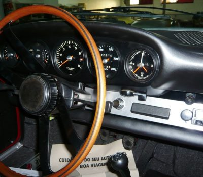 Porsche 911 Targa Soft Window 1968 Red Steering Wheel