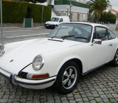 Porsche 911T 1971 White Front
