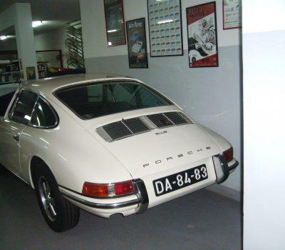 Porsche 912 Karmann Coupé 1968 White Back