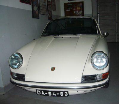 Porsche 912 Karmann Coupé 1968 White Front