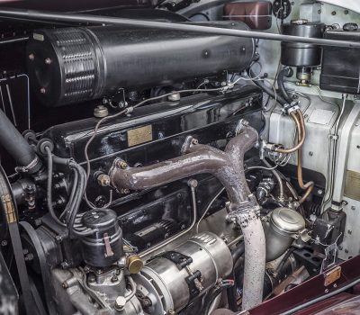 Rolls Royce Wraith 1938 Bordeaux Engine