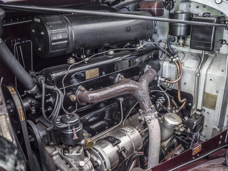 Rolls Royce Wraith 1938 Bordeaux Engine