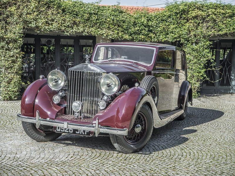 Rolls Royce Wraith 1938 Bordeaux Front