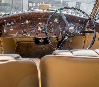 Rolls Royce Wraith 1938 Bordeaux Interior