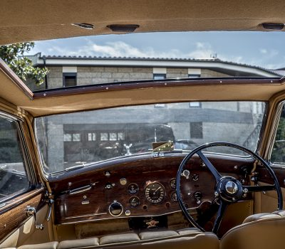Rolls Royce Wraith 1938 Bordeaux Interior Roof