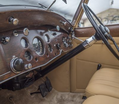 Rolls Royce Wraith 1938 Bordeaux Steering Wheel